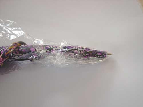 ein ganz spezieller kugelschreiber aus fimo die fimoseite. Black Bedroom Furniture Sets. Home Design Ideas